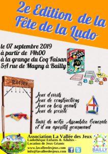 Fête de la Ludo : 2ème édition @ Grange du Coq Faisan